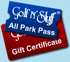 Gift Certificates and All Park Passes