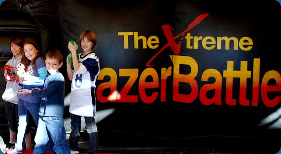 The Xtreme LazerBattle